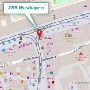 Anfahrtsplan ZRB-Westbayern